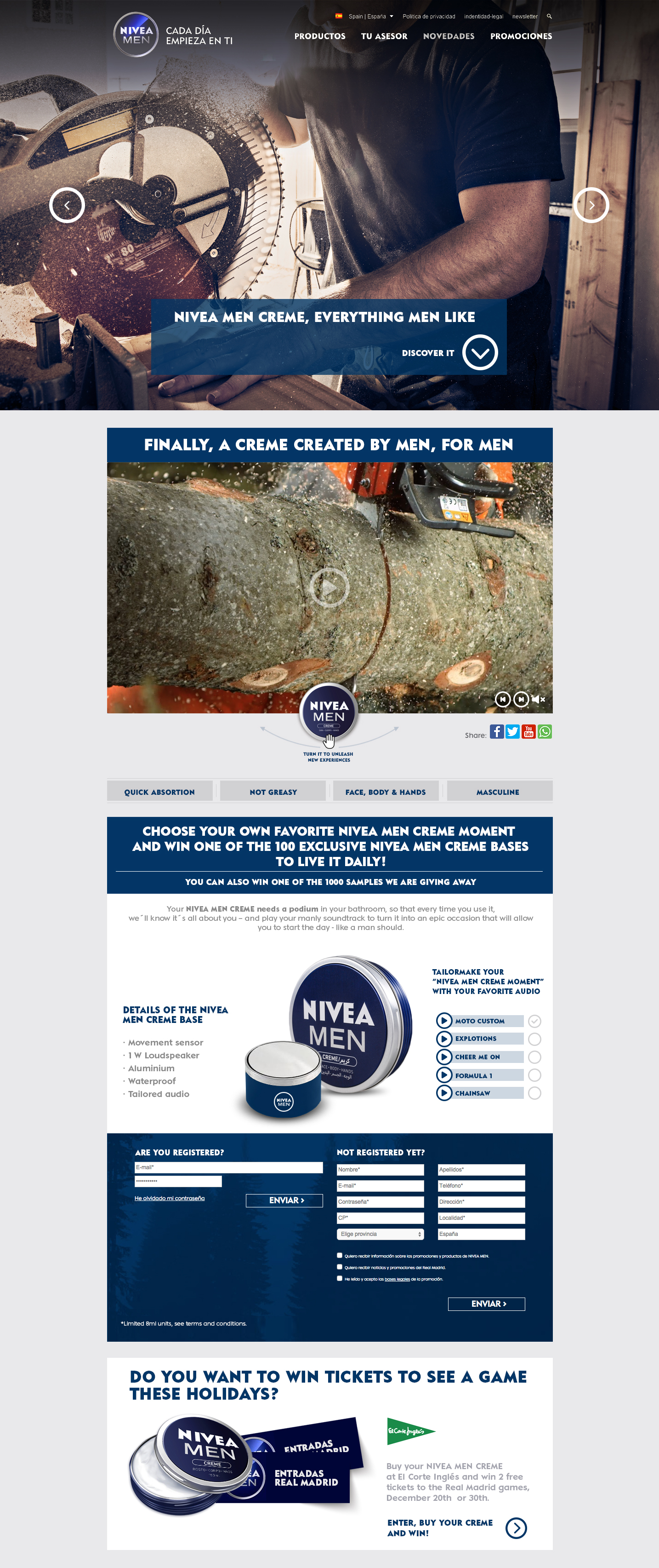 WEB NIVEA MEN INGLES